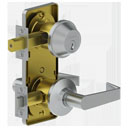 Door-Hardware 3700-Escutcheon-Archer-Interconnected-Lock-Assembly Hager-Companies