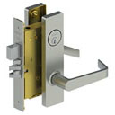 Door-Hardware 3853-Escutcheon-Mortise-Lock-Main-Assembly Archer-Lever Hager
