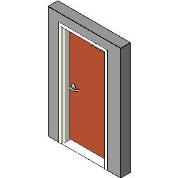 Metal-Frame-Wood-Door Hager-Companies