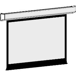 Projection Screen-Electric-DaLite-Designer Contour IR-Video