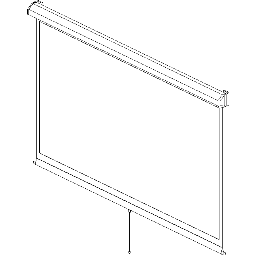 Projection Screen-Manual-DaLite-Model-C-CSR SD-HDTV