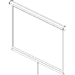 Projection Screen-Manual-DaLite-Model-C-CSR SD-Square