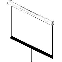 Projection Screen-Manual-DaLite-Model-C-HDTV