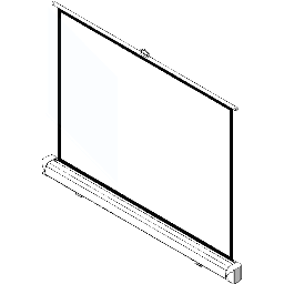 Screen-Manual-Ceiling Based-DaLite-Easy-Install w CSR-4x3 Video Format