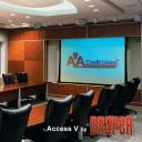 ElectricScreen Access-Series-V Draper