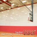 GymDivider Top-Roll Draper