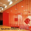 GymDivider Walk-Draw Draper
